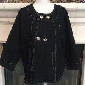 Stylish Denim Dressy Jacket w/pockets💕